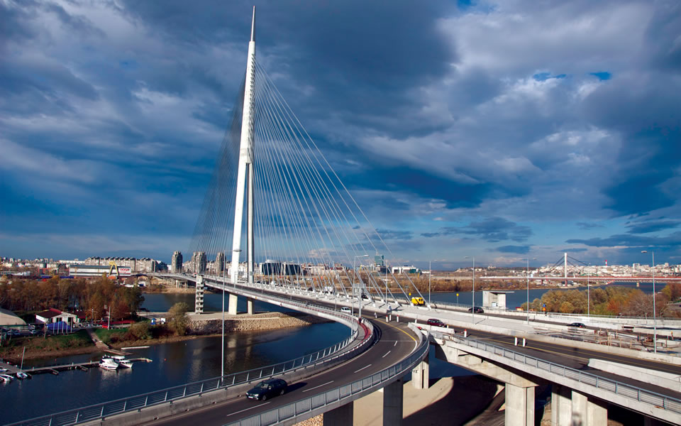 LOUIS BERGER HONORED WITH IRF GLOBAL ROAD ACHIEVEMENT AWARD FOR SAVA RIVER BRIDGE IN BELGRADE